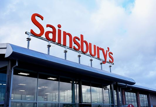 sainsburys drive-thru supermarket